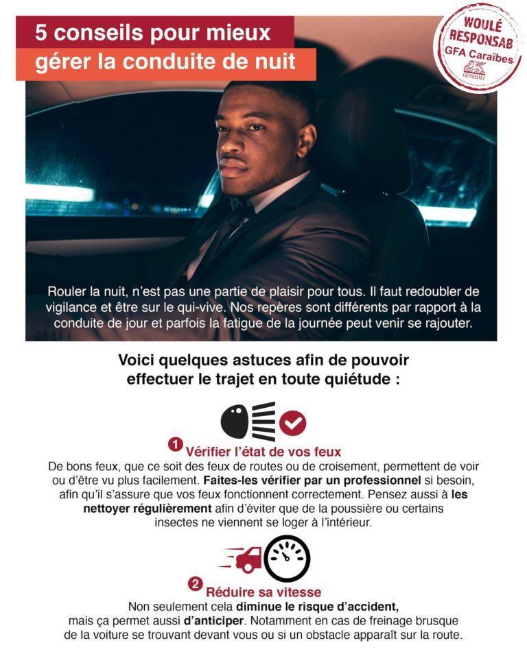 Cinq conseils pour mieux gérer la conduite de nuit
