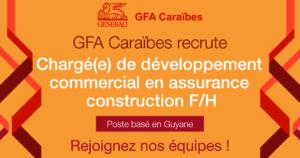 poste chargé(e) de développement commercial assurance construction