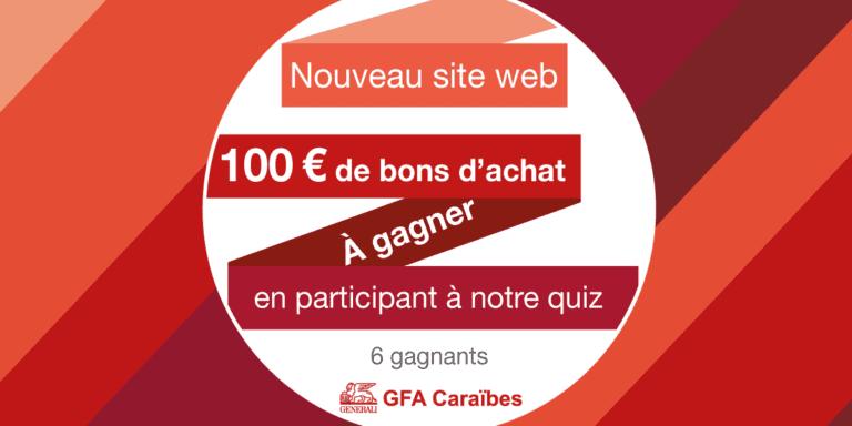 Quiz jeu concours – Nouveau site – [Fermé]