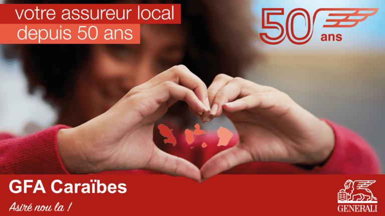 2021 : GFA Caraïbes, votre assureur local fête ses 50 Ans !