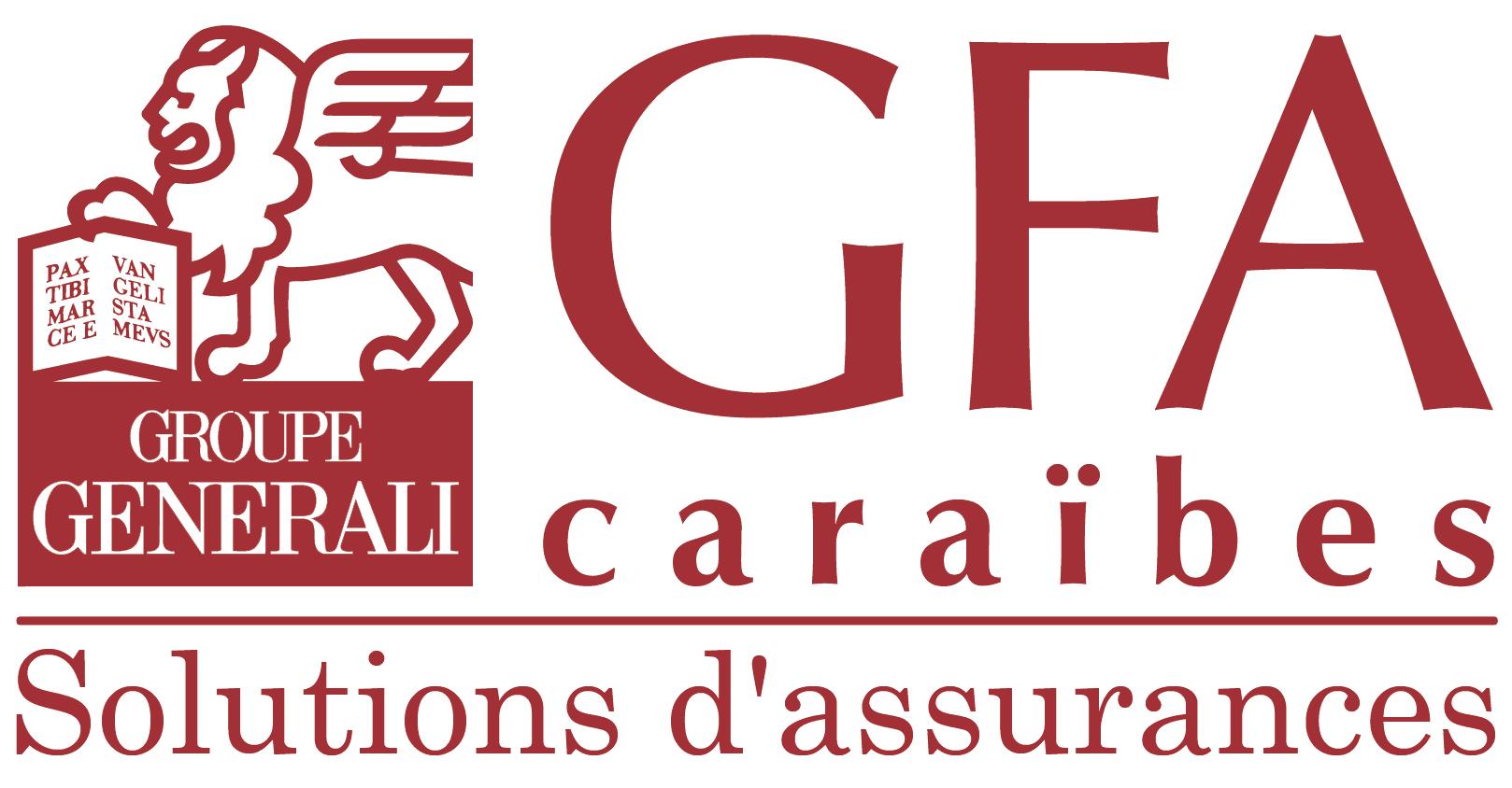Logo GFA Caraïbes GROUPE GENERALI Solutions d'assurances