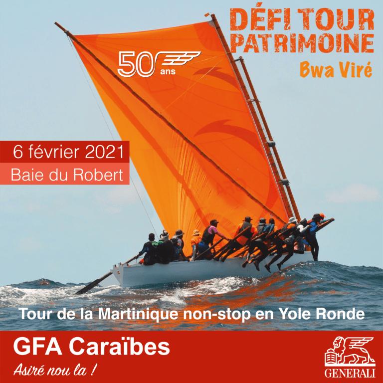 YOLE GFA : DÉFI TOUR PATRIMOINE