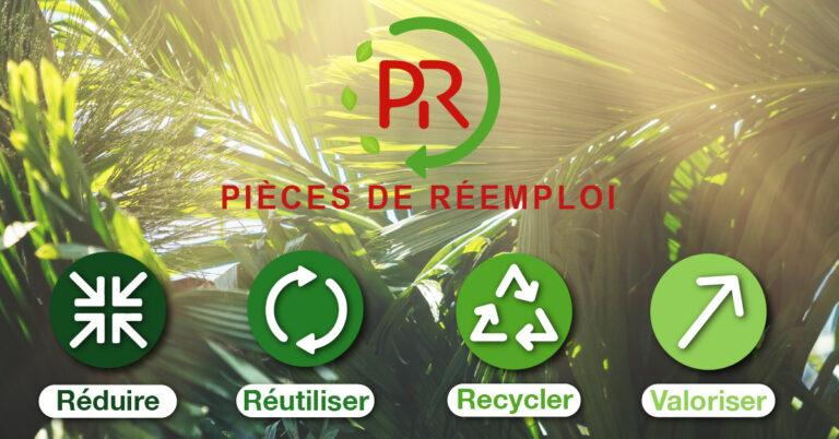 Les pièces de réemploi, un enjeu écologique !